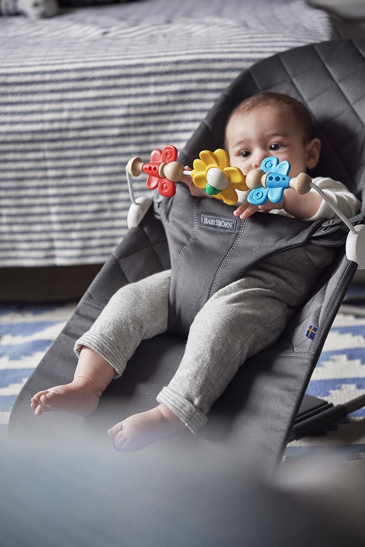 BabyBj/örn 080099 Spielzeug f/ür Babywippe Fliegende Freunde