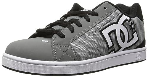 DC Net Se M Shoe Xssk - zapatilla deportiva de piel hombre, Gris / Negro (Grey / Grey / Black), 47: Amazon.es: Zapatos y complementos
