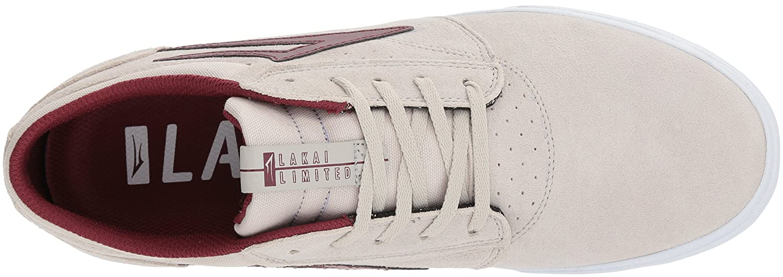Lakai Griffin Skate M Shoe B073SPDPJF 9 M Skate US|White/Burgundy Suede a8aaf8