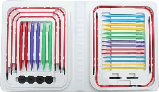 Blue Denise Needles KBBRSET Interchangeable Knitting Needles Kit