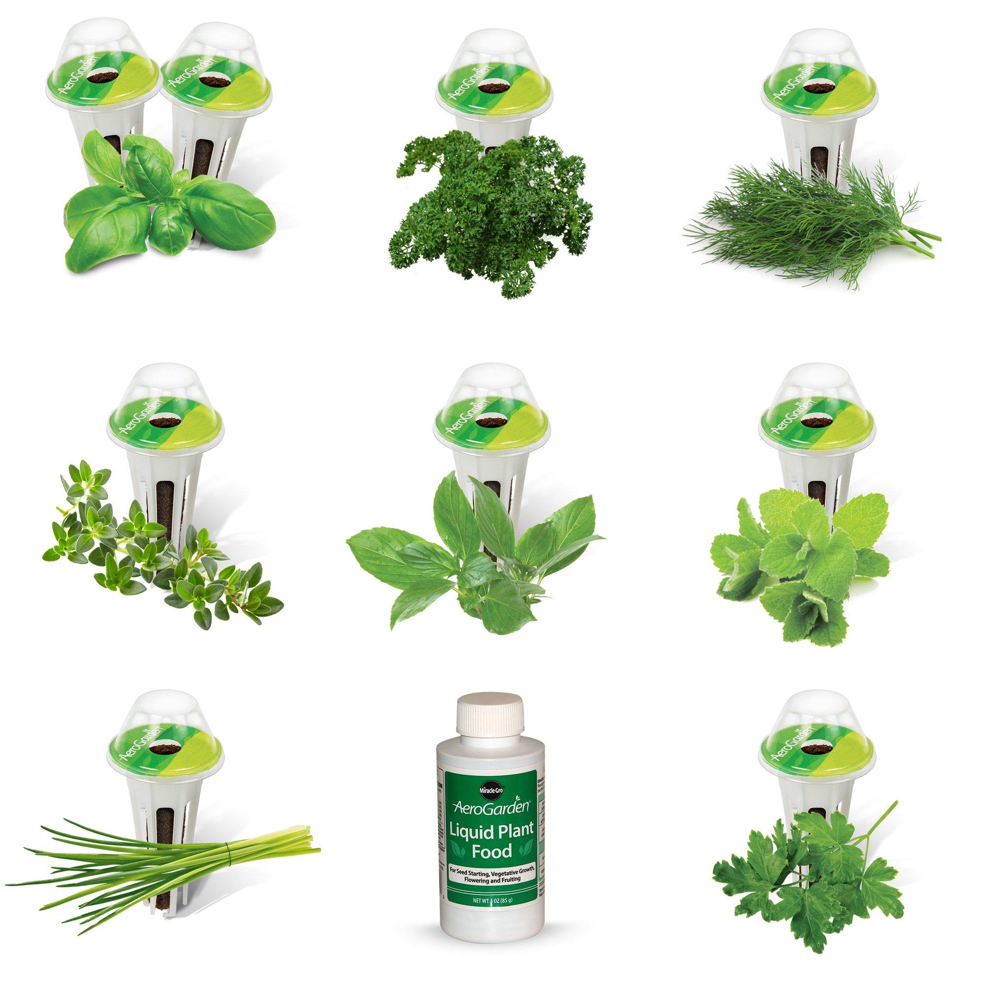 AeroGarden Gourmet Herb Seed Pod Kit (9 pod) by AeroGarden