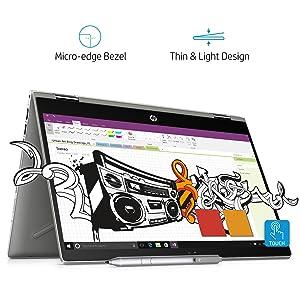 HP Pavilion x360 Intel Core i7 8th Gen 14-inch Touchscreen...