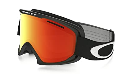 1662115f2daa Image Unavailable. Image not available for. Color  Oakley O Frame XM 2.0  Snow Goggles Matte Black with Fire Iridium Lens