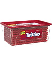 Twizzlers Licorice Candy, Strawberry, 5 Pound