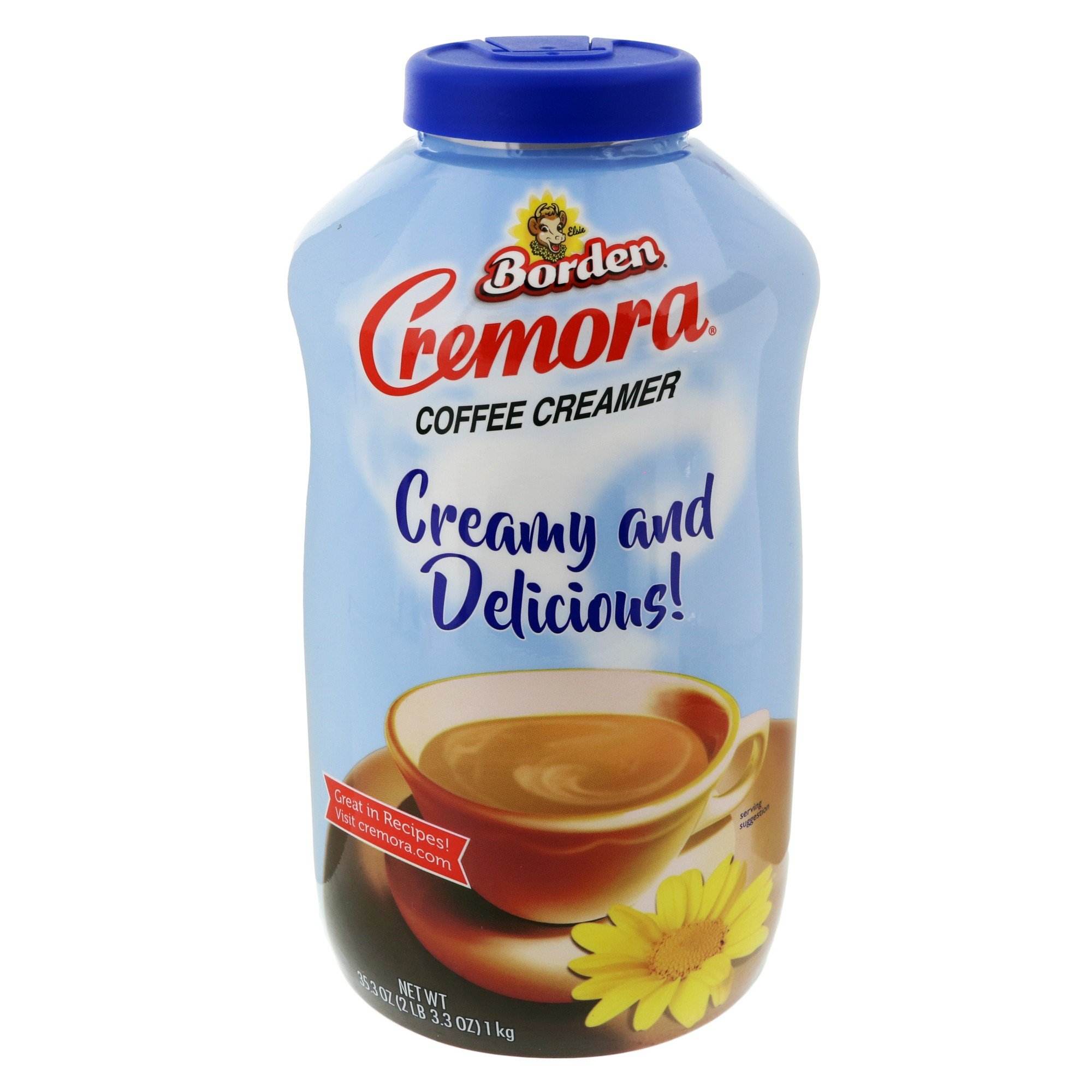 Borden, Cremora, Non-Dairy Creamer, 35.3oz Bottle by Borden