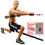 Total Bar | Exercise Bar and Shoulder Rehabilitation Equipment | Includes Carrying Case, Nutrition Booklet, and Workout…
