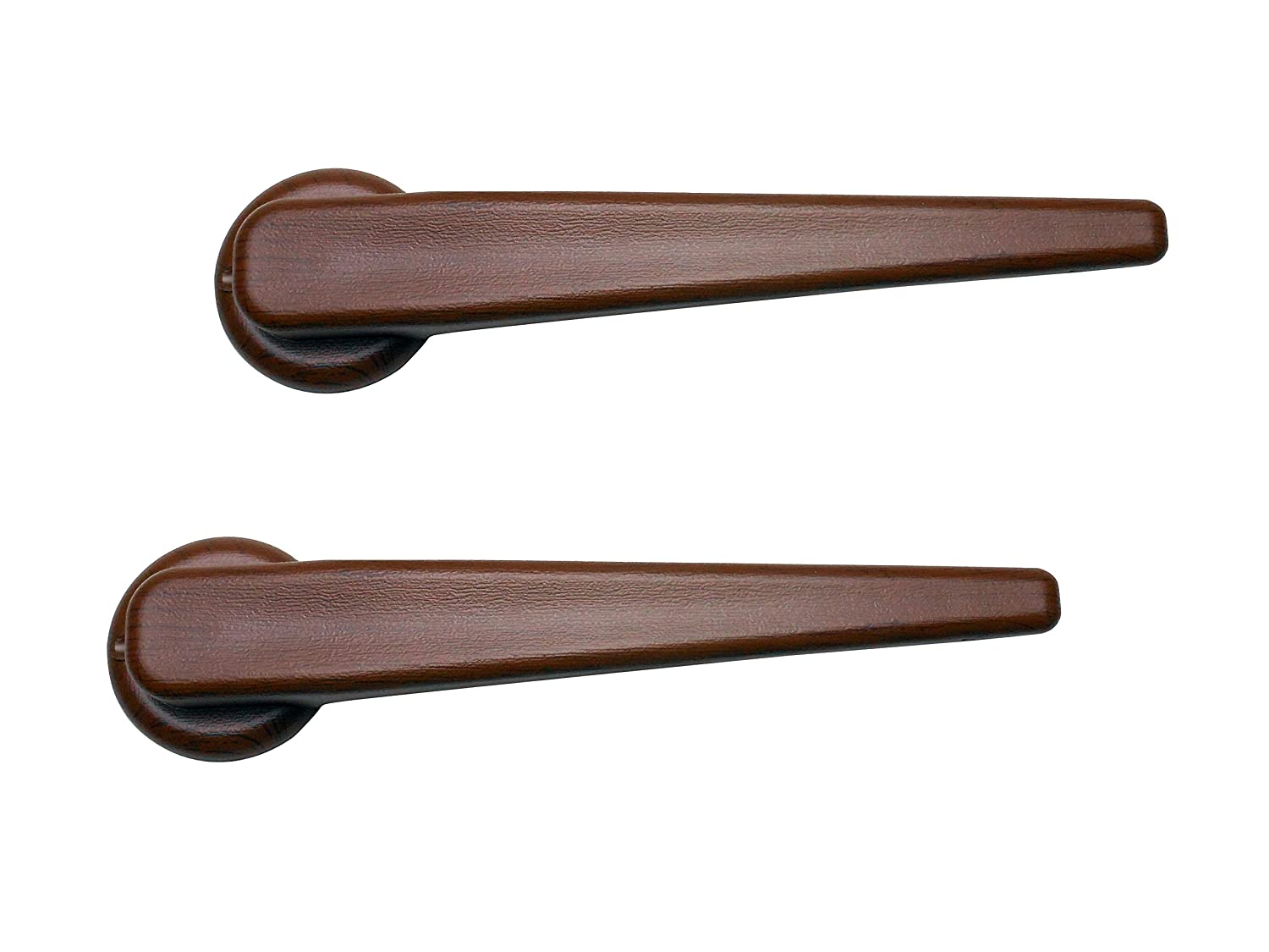 NAK Recliner Replacement Parts Lever Style Handle fits Many Manufacturer Brands Including Flexsteel, Chair Release Handle for Sofa, Couch or Recliner (Teak, 2)