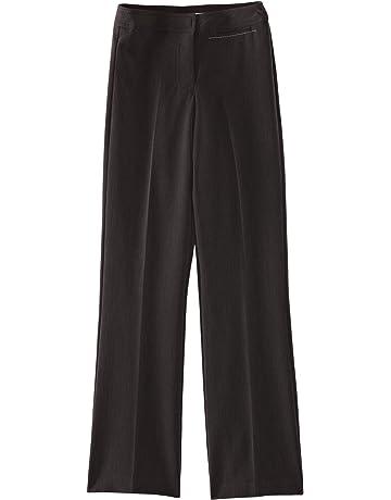 45069dfe1 Trutex Limited Girl's Senior Wide Leg Plain Trousers