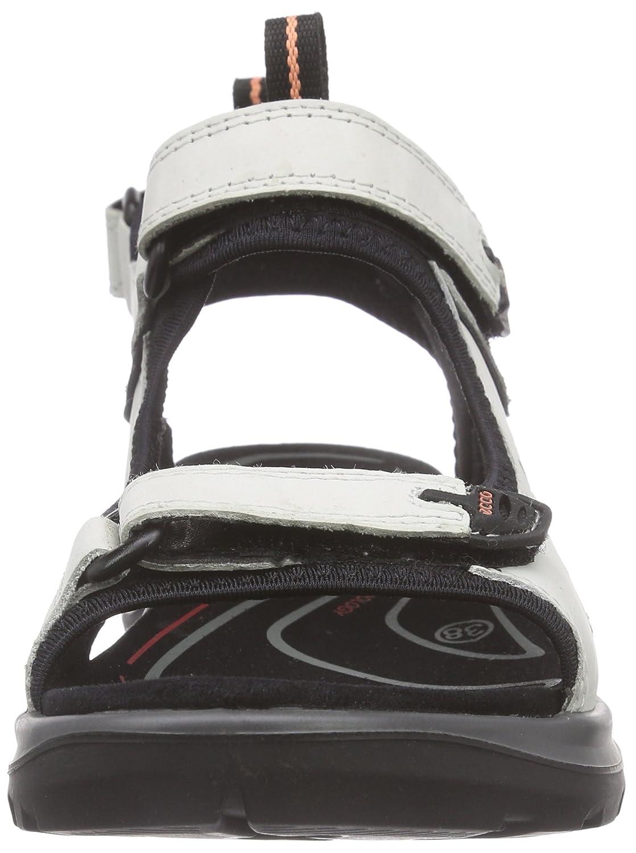 ECCO Women's Yucatan M Sandal B011EA4K3W 43 EU/12-12.5 M Yucatan US|Shadow White d27862