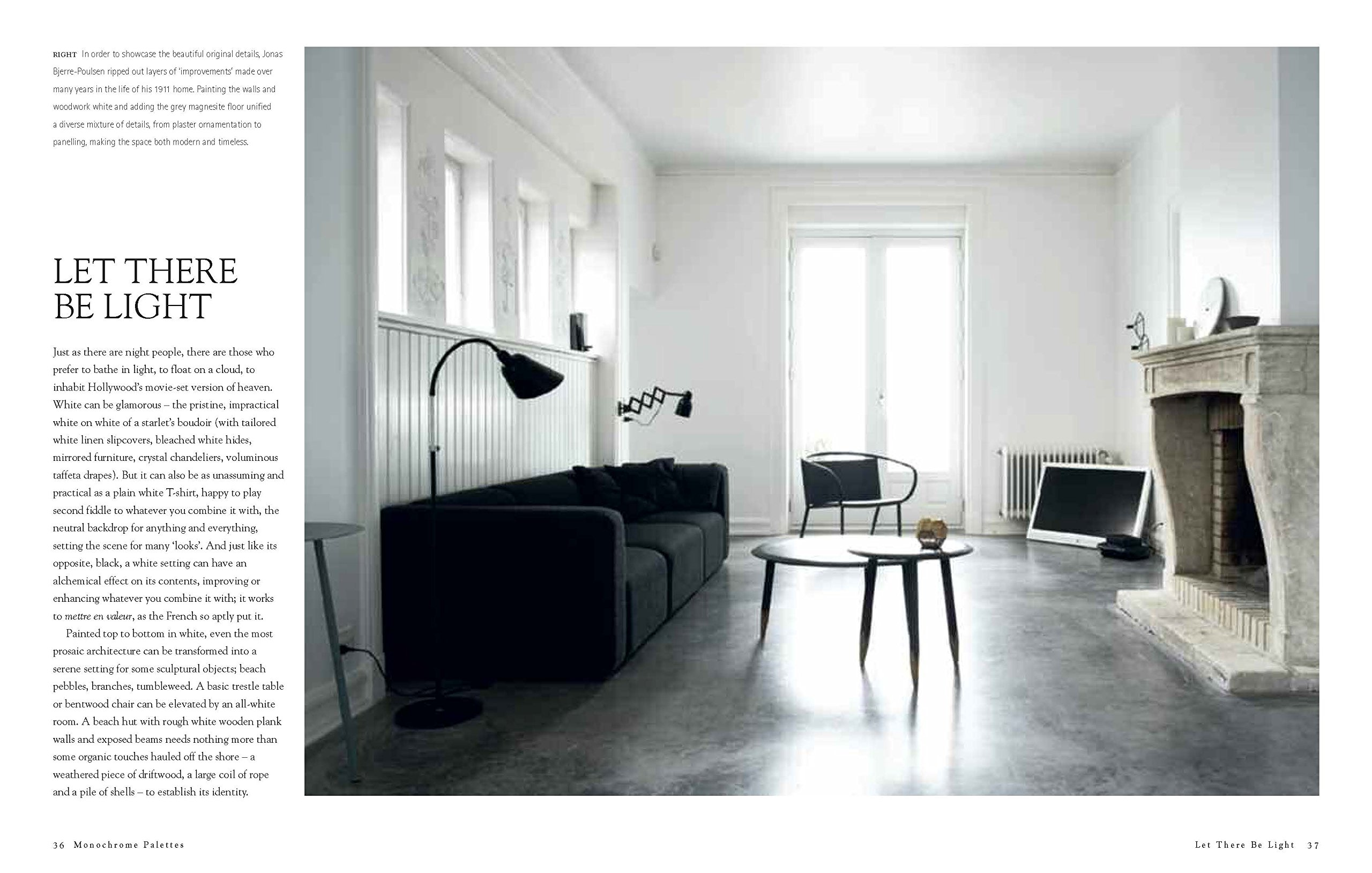 Monochrome Home: Elegant Interiors in Black and White: Hilary Robertson:  9781849756136: Amazon.com: Books