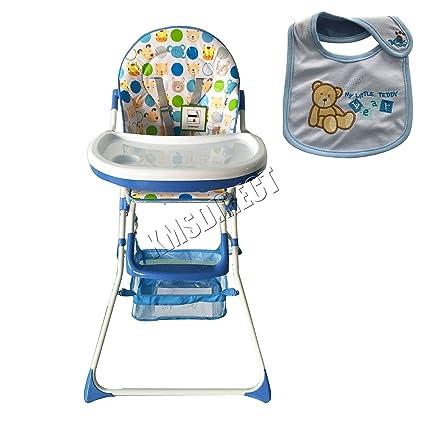 FoxHunter - Silla alta para bebé, niños, mueble de guardería ...
