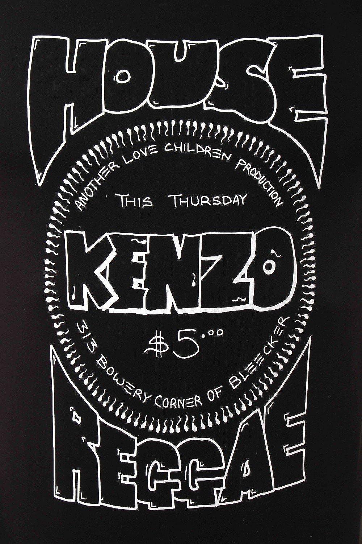 4363a34371 Kenzo House Of Reggae Logo Crew T-shirt Small BLACK: Amazon.co.uk: Clothing