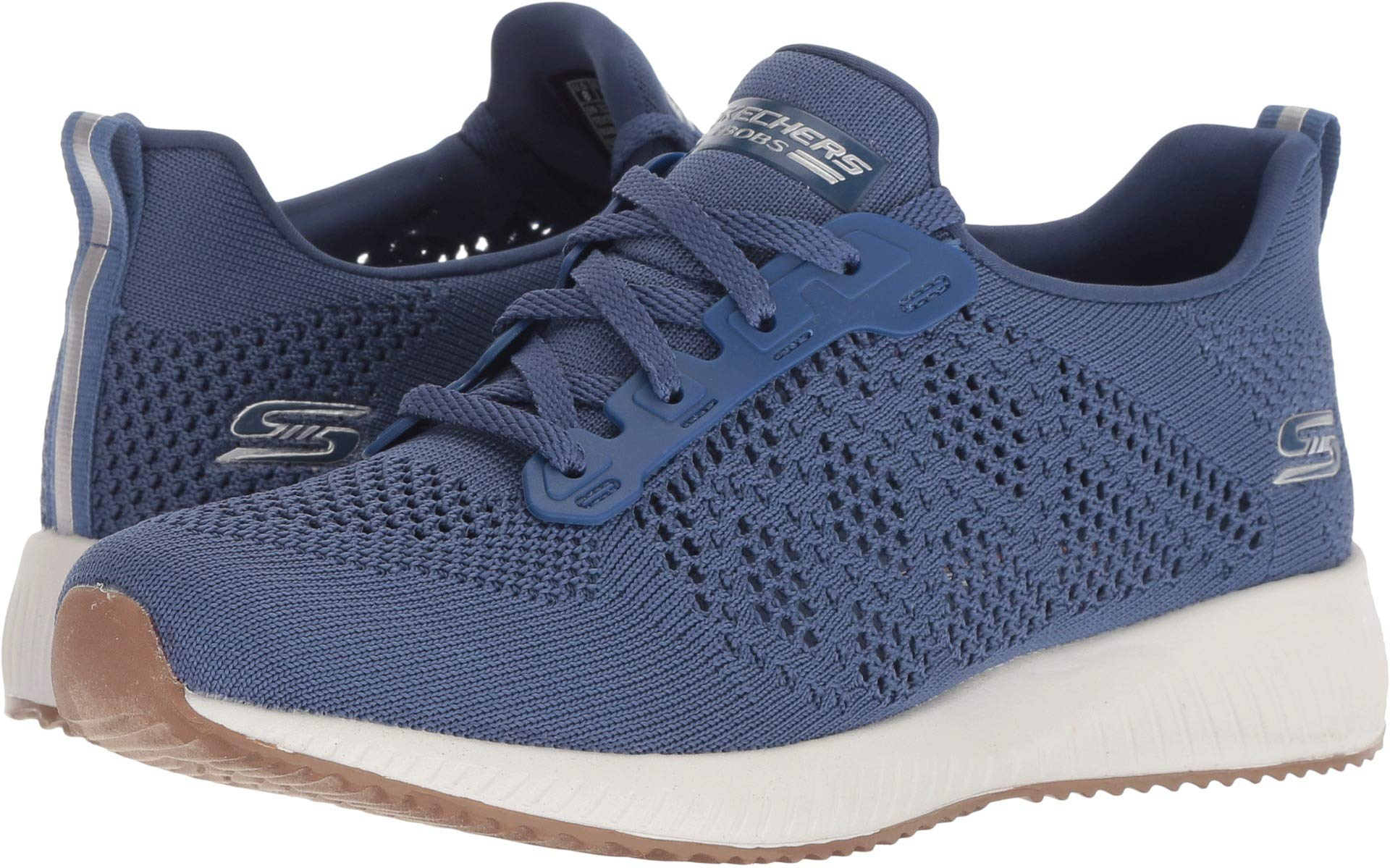 Skechers BOBS Sport Squad Ring Master Womens Sneakers Navy 8.5