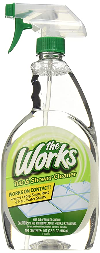 HOME CARE LABS 65320WK The Works Tub U0026 Shower Cleaner 32 Fl. Oz