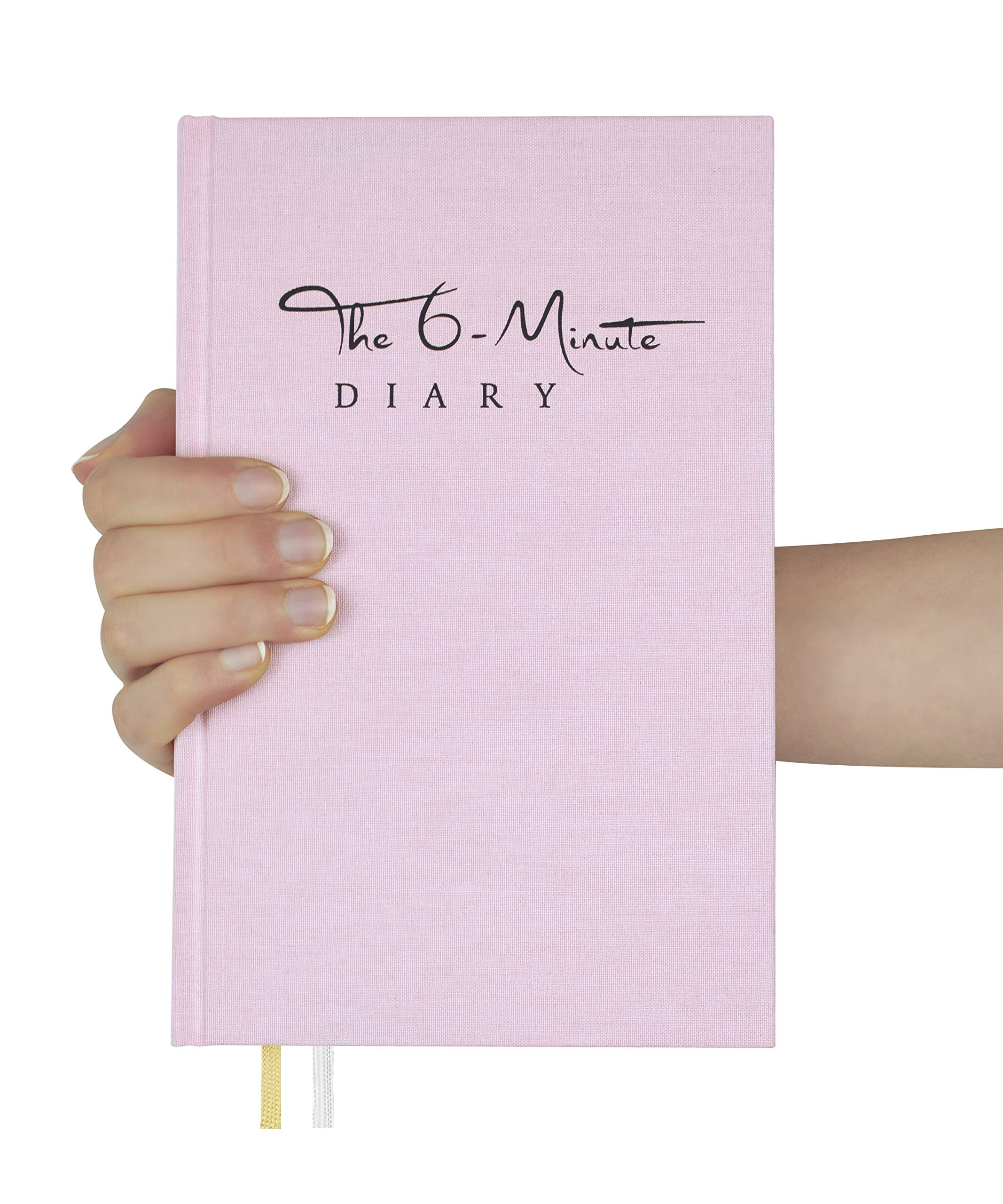 The 6-Minute Diary (Orchid Pink) | 6 Minutes a Day for More Mindfulness, Happiness and Productivity | A Simple and Effective Gratitude Journal and Undated Guided Journal | The Perfect Gift