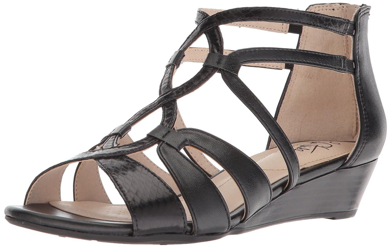 c4ce5d165 Amazon.com  LifeStride Women s Yacht Wedge Sandal  Shoes