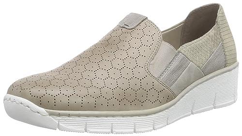 Rieker 53777 Women Loafers - Mocasines Mujer: Amazon.es: Zapatos y complementos