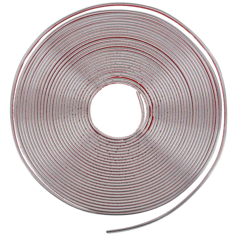 Etase 6mm 15m Nastro Adesivo Colore Nichel Cromato