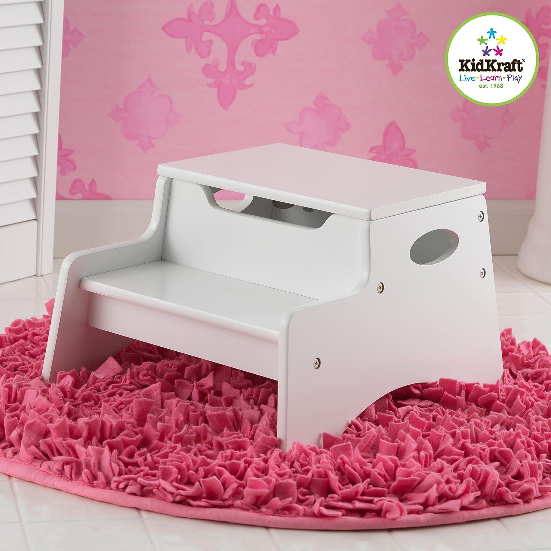 Kidkraft Petal Pink Kitchen Amazoncom Kidkraft Step N Store Espresso Toys Games