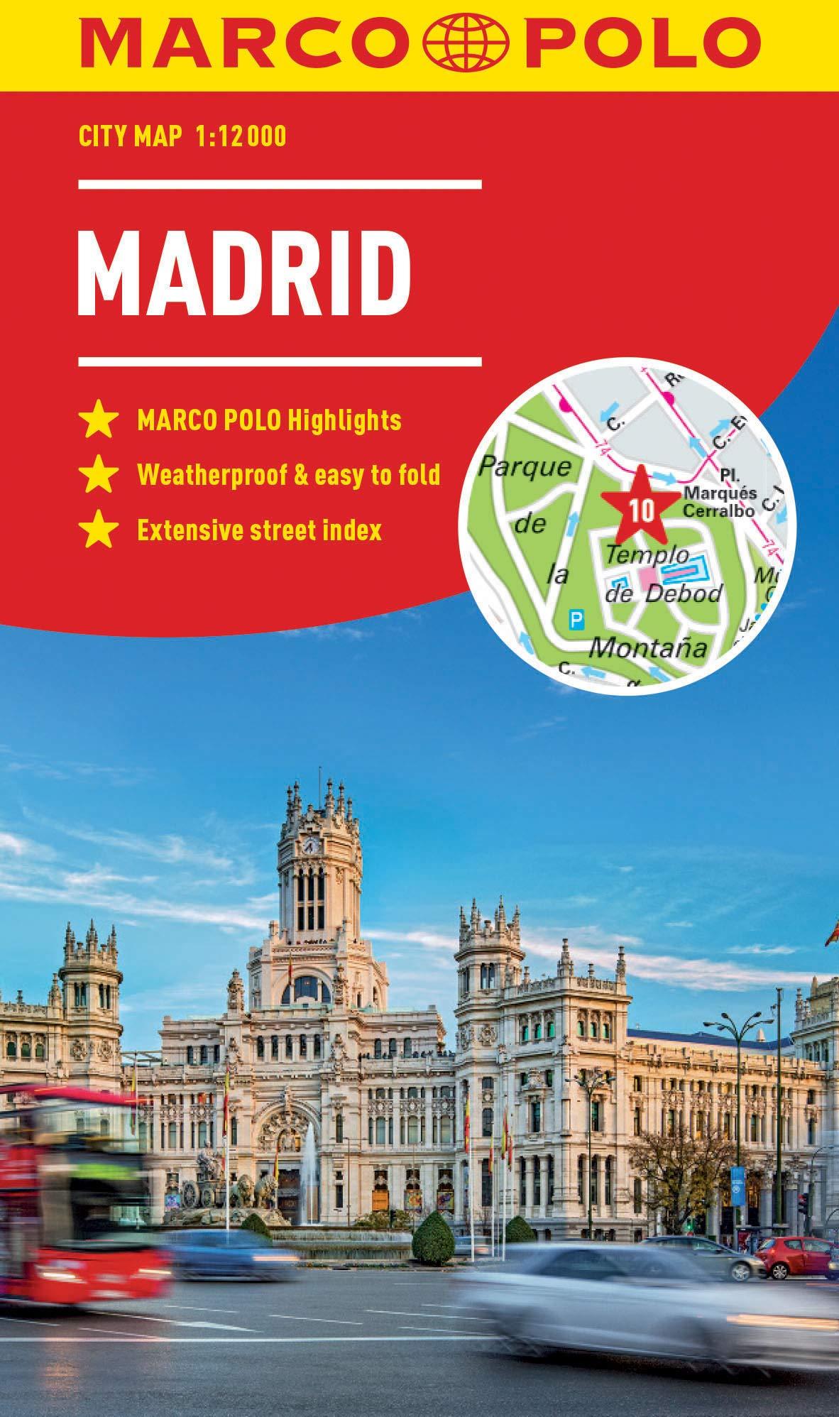 Madrid Marco Polo City Map Marco Polo City Maps Idioma Inglés ...