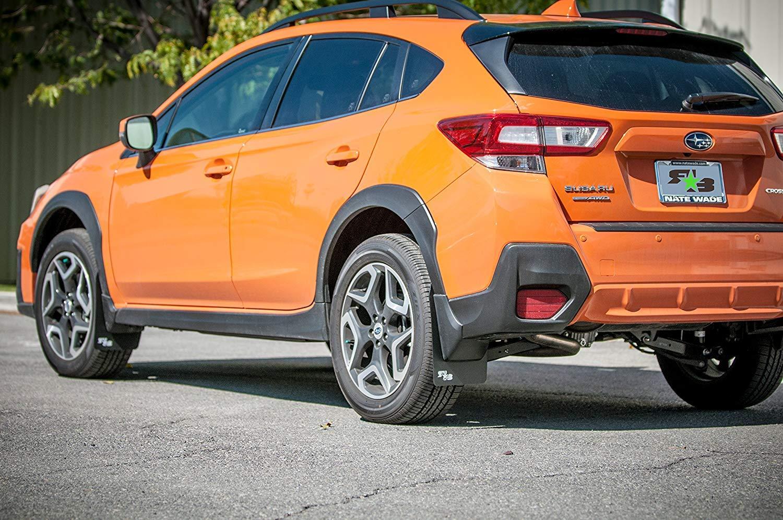 Orange Subaru Crosstrek >> Rokblokz Mud Flaps For 2018 Subaru Crosstrek Multiple Colors Available Mud Guards Are Custom Cut And Fit Includes All Mounting Hardware