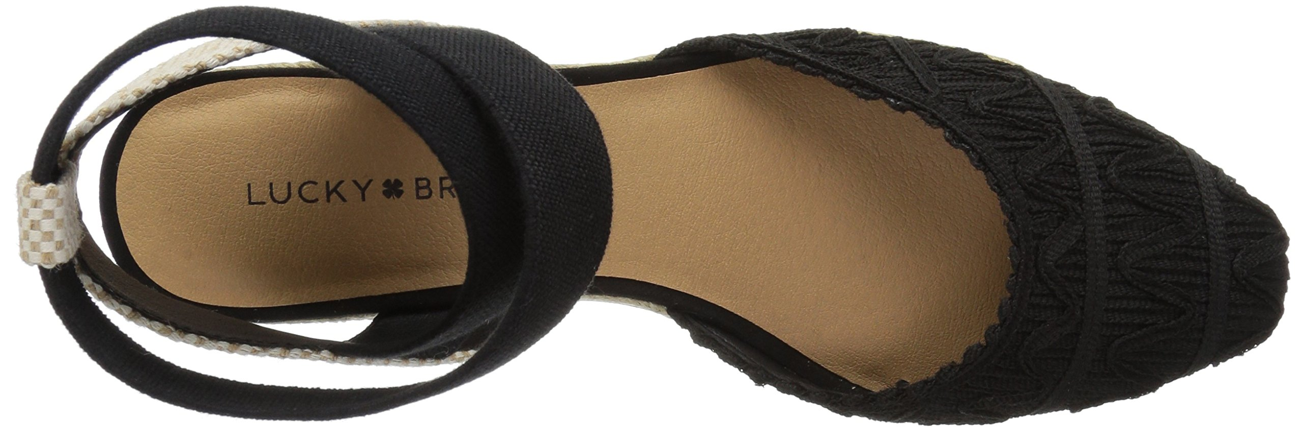 Lucky Brand Women's Luvinia Pump, Black, 7 M US by Lucky Brand (Image #7)