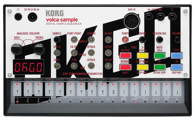 KORG デジタルサンプルシーケンサー volca sample OK GO edition 本体のみ  B017VX5EOA, オオミヤク 57d4806d
