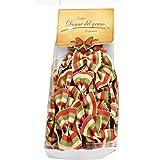 Italian Donne del Grano Italian Flag Bowties Colored Pasta, 8.8oz (250gm), 2 Per Case