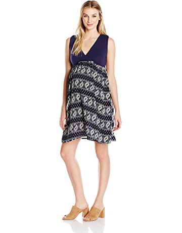 869bcadc23ac Everly Grey Women s Cleo Maternity and Nursing Tank Dress