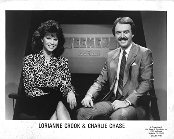 Lorianne Crook And Charlie Chase Original 8x10 Photo K8305