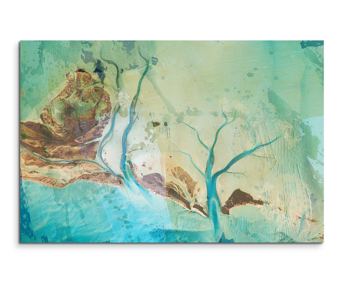 Amazon.de: 120x80cm Leinwandbild Leinwanddruck Kunstdruck Wandbild ...