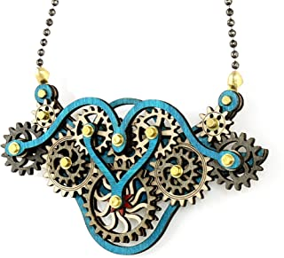product image for Kinetic Winged Gear Pendant 6004F