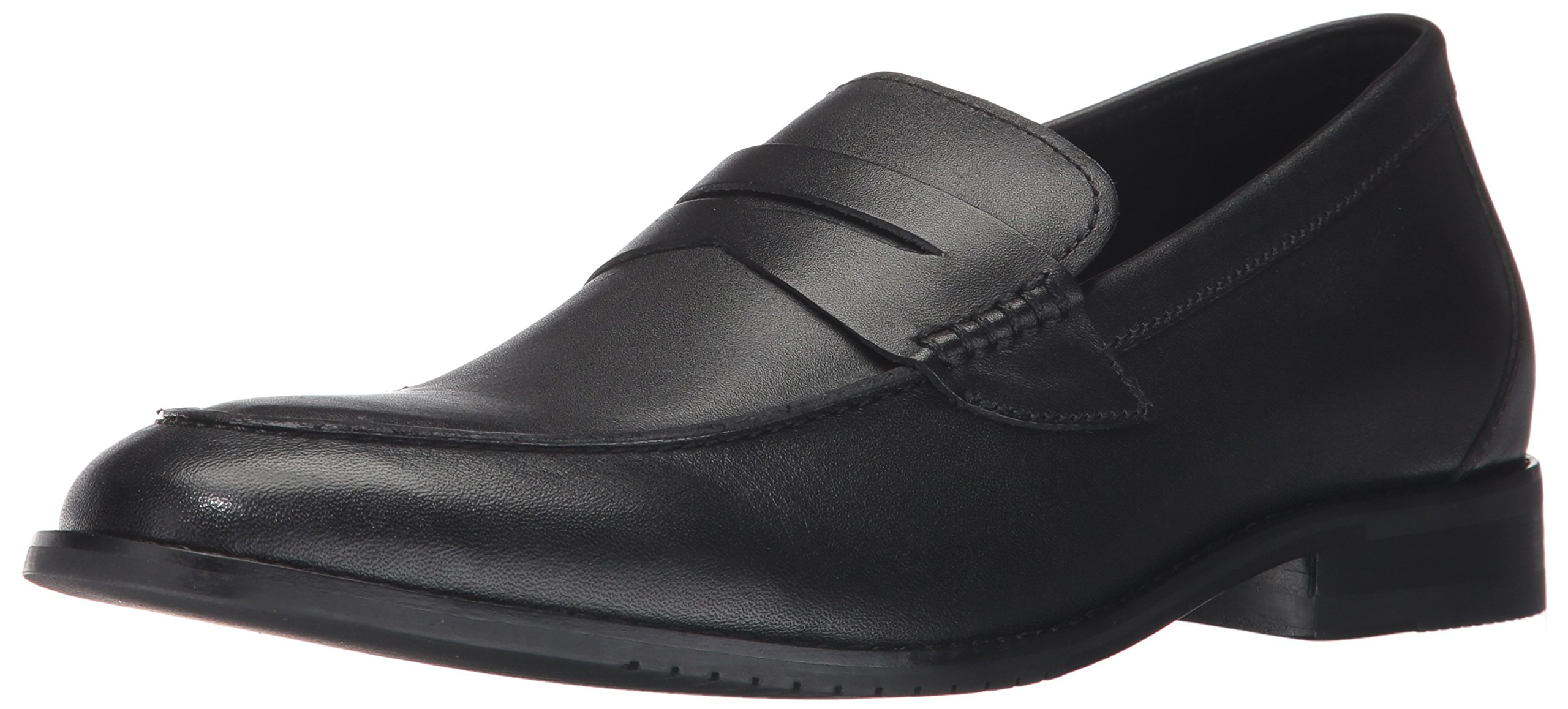 206 Collective Men's Winton Penny Loafer, Black, 10.5 D US