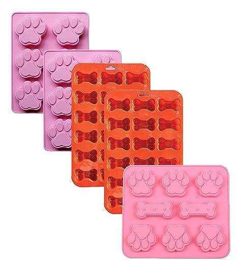 Amazon.com: PopBlossom - Juego de 5 moldes de silicona con ...