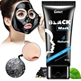 Natural Charcoal Mask By Galact: Activated Peel-Off Bamboo Mask For Blackhead Removal – Deep Facial Cleansing Black Mask For The Nose, Cheeks And Chin – Pore Minimizing Face Mask For Flawless Skin