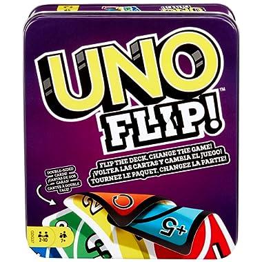 Mattel Games UNO Flip Tin [Amazon Exclusive]