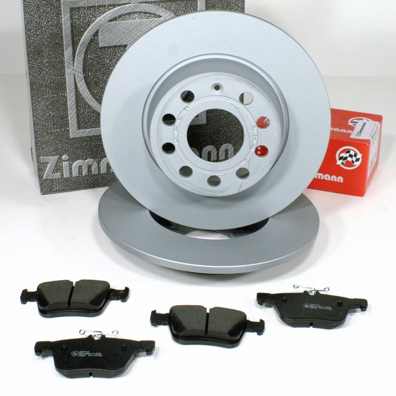 Zimmermann Bremsscheiben Coat Z Bremsen Bremsbel/äge f/ür hinten die Hinterachse