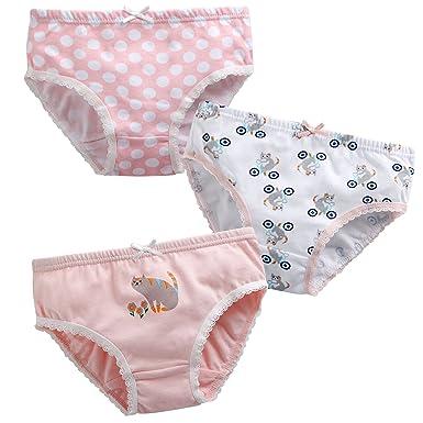 d15cafdbdf Vaenait Baby 2T-7T Girls Assorted Panties Briefs Underwear Set (Pack ...