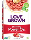Love Grown Power O's Cereal, Strawberry, 10 Ounce