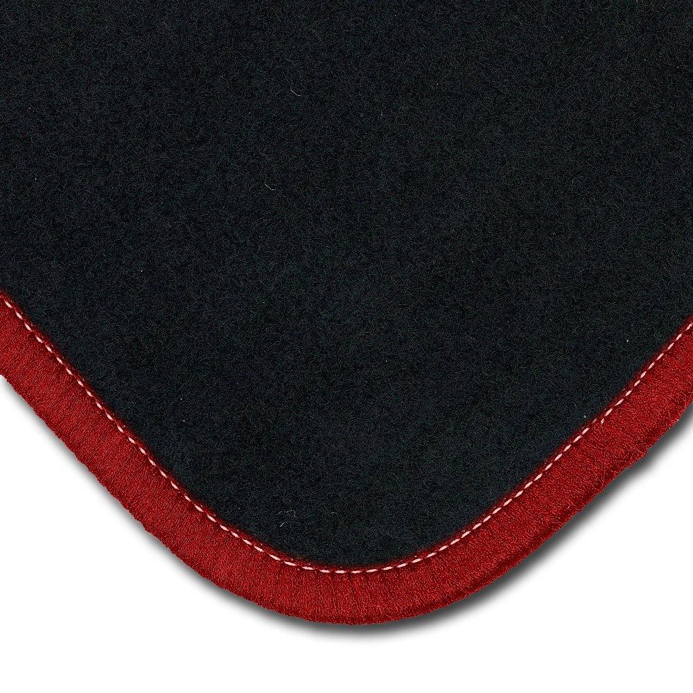 Automatten Fußmatten Sport Line rot-grau Kia Pro Ceed 2007-2013 3 trg