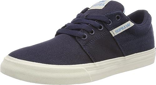 Supra Stacks II Vulc, Sneakers Basses Homme, Bleu (Navy
