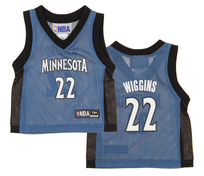 NBA Infants Minnesota Timberwolves Andrew Wiggins # 22 Dazzle Jersey B071X7PZ3K 2T