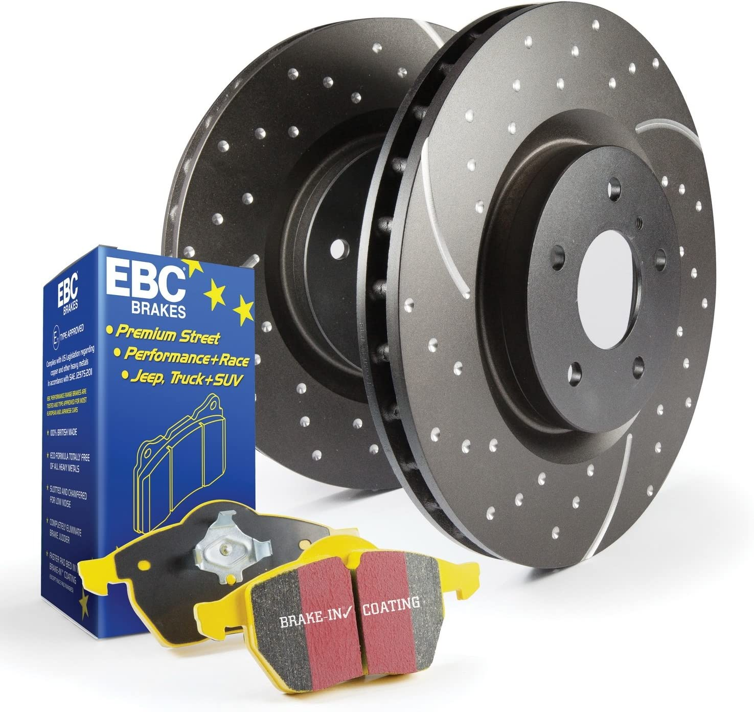 EBC S5KF1128 Stage-5 Superstreet Brake Kit
