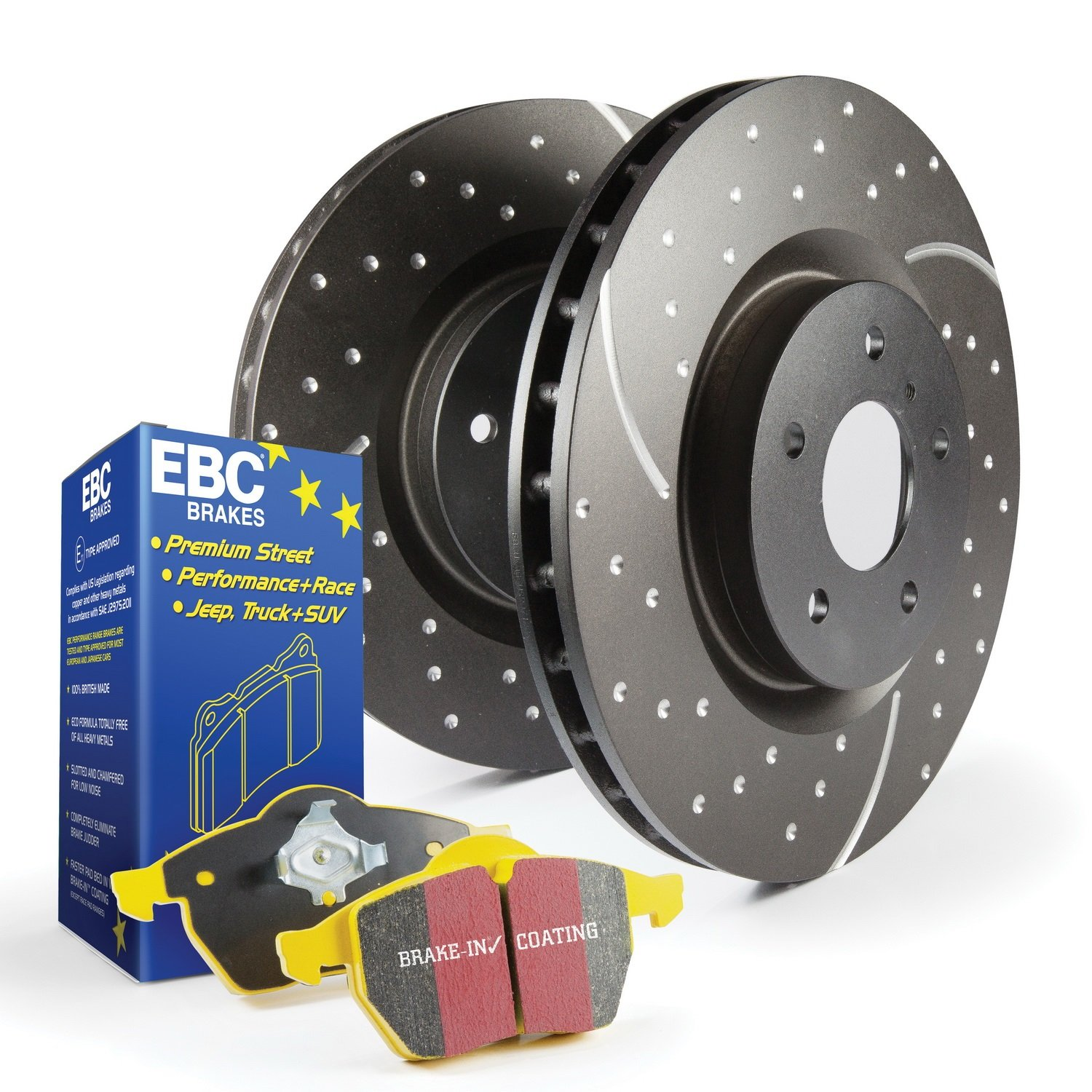 EBC S5KF1460 Stage-5 Superstreet Brake Kit by EBC Brakes (Image #1)