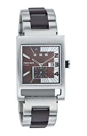 cef4a6924e5893 Buy Fastrack Party Analog Brown Dial Men s Watch-NK1478SM02 Online ...