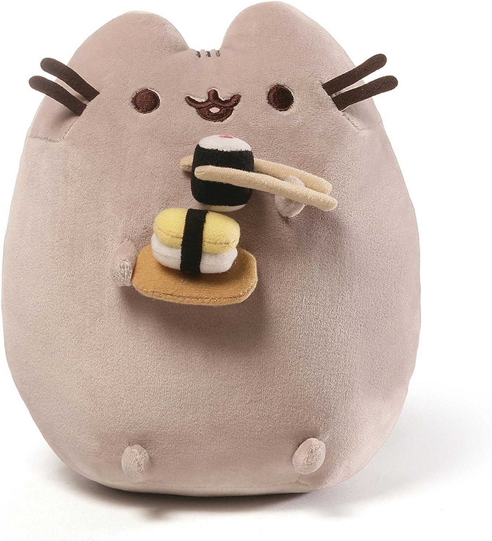 "GUND Pusheen Snackables Sushi Chopsticks Plush Stuffed Animal Cat, 9.5"""