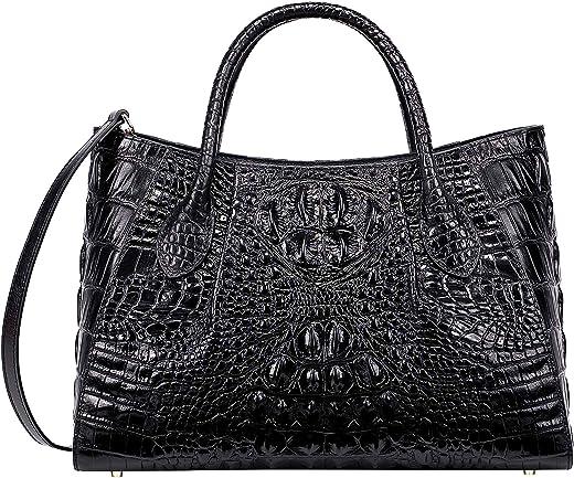 بيجوشي النساء حقائب اليد التمساح الأعلى مقبض حقيبة مصمم حقائب الكتف للنساء
