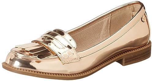 XTI Nude Mirror PU Ladies Shoes, Mocasines para Mujer, Rosa, 40 EU: Amazon.es: Zapatos y complementos