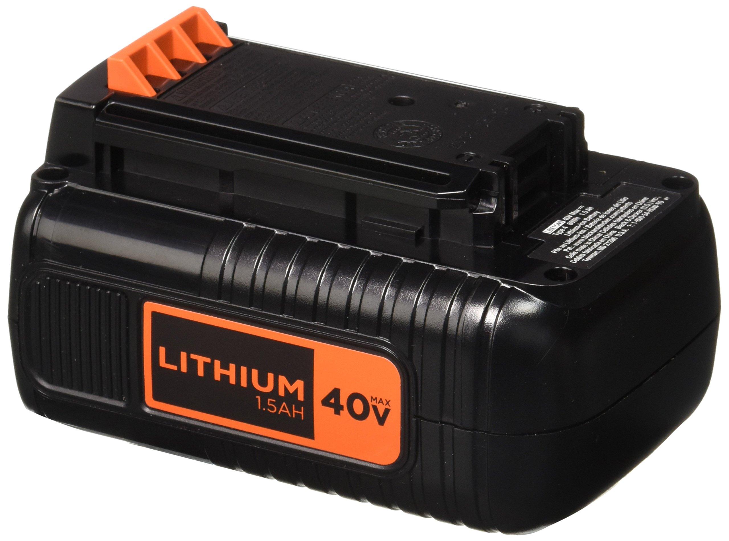 2 Baterias Originales BLACKDECKER LBX1540-2 40V