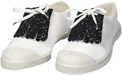 cd91250f5d8533 Bensimon PATTES MEXICAINES Bijoux de chaussures, Argent (Glitter) One Size